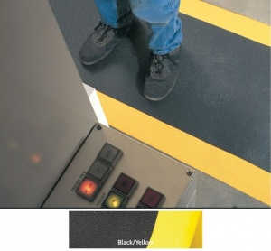 Anti-Fatigue Safety Mats - Black/Yellow