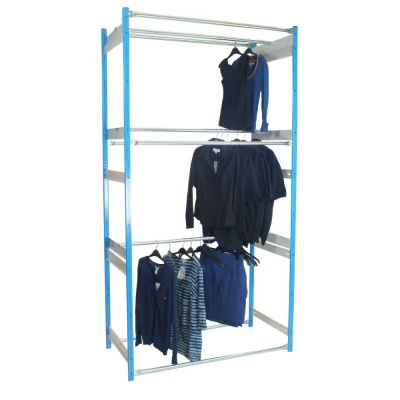 3 Tier Garment Racking Inboard