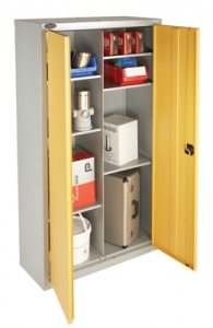Industrial Storage Cabinet - 8 Compartment