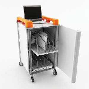 LapCabby 10V Laptop Charging Trolley
