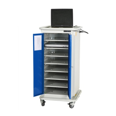 Laptop Charging Trolley 8 Compartment