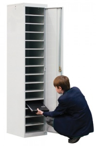 15 Compartment Laptop Locker - Single Door