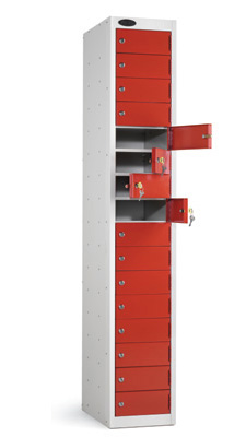 Probe Steel Storage Locker - 16 Door