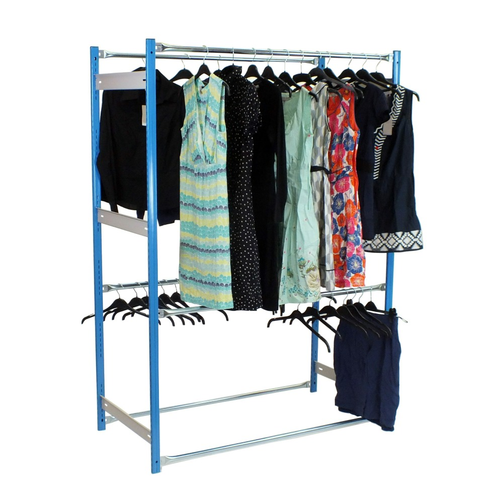 2 Tier Garment Racking Outboard