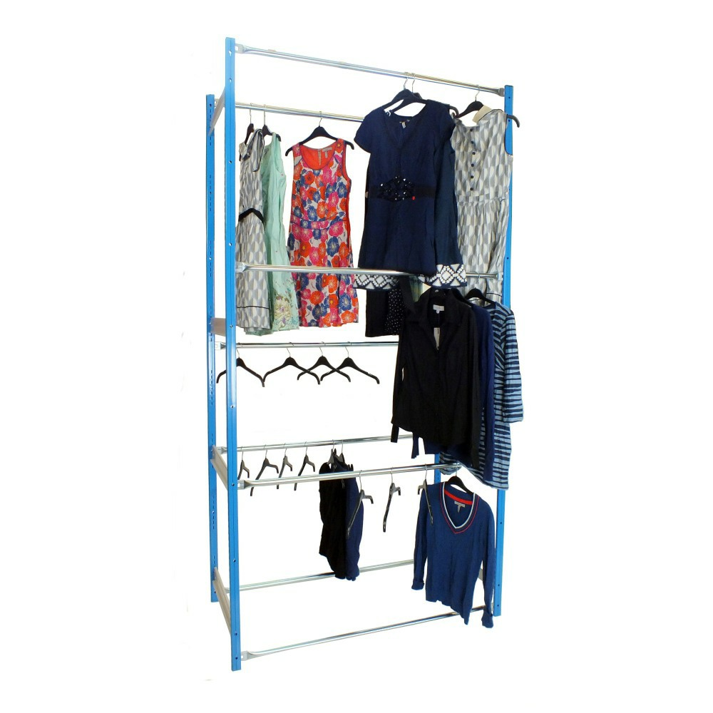 3 Tier Garment Racking Outboard
