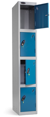 Probe Steel Storage Locker - 4 Door