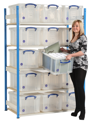 48 Litre Really Useful Box Shelving