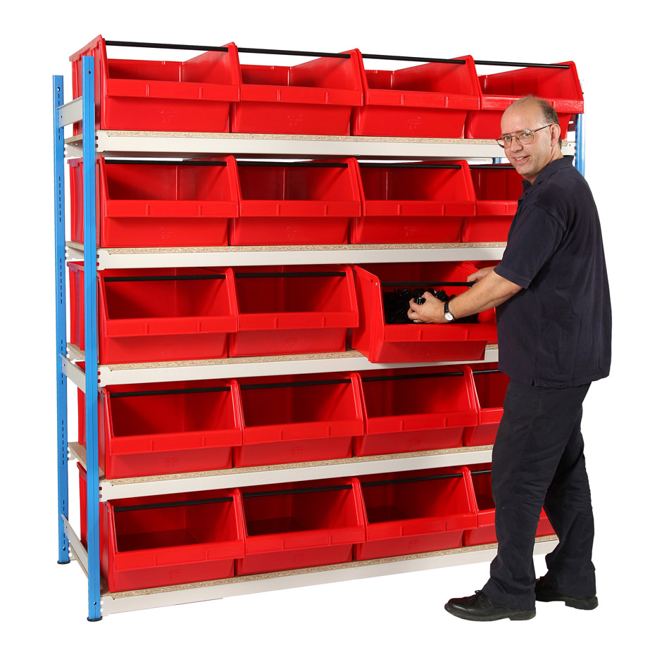 Picking Bin Shelving - 75 Litre