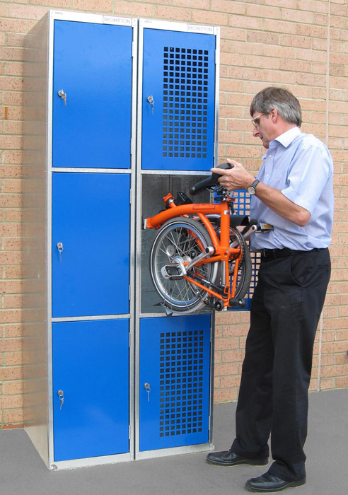 Folding Bike Lockers