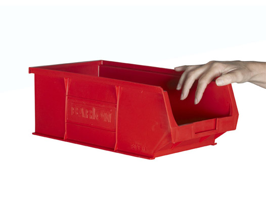 Pack Of 10 Size 4 Plastic Picking Bins