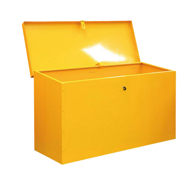 Hazardous Substance Floor Chest - Sloping Top