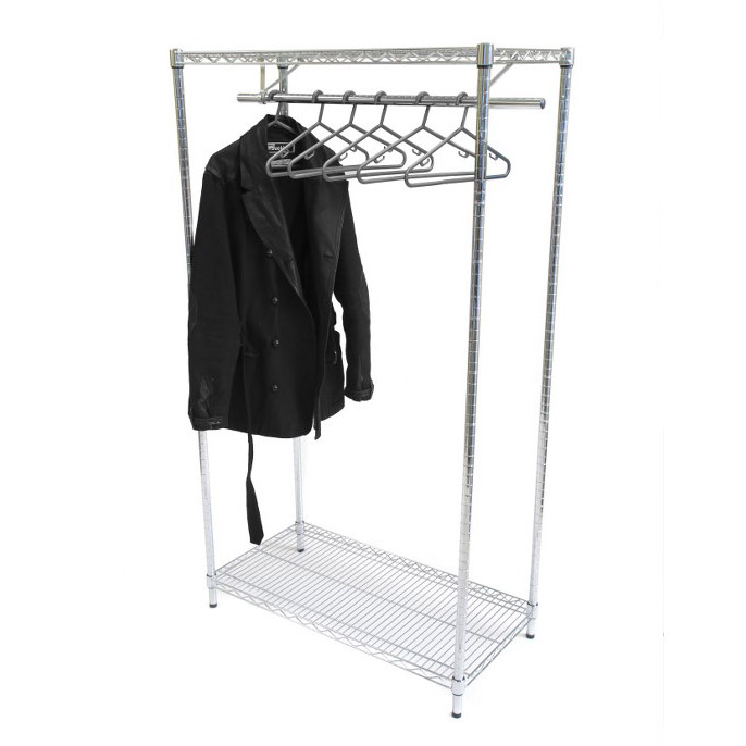 Chrome Shelving Garment Rack
