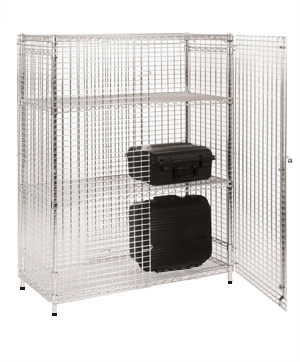 Chrome Wire Security Cage