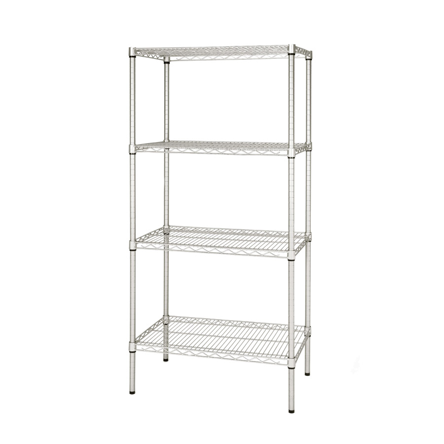 Eclipse Heavy Duty Chrome Shelving H1625mm