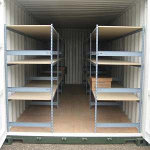 Racking System For 20ft Shipping Container