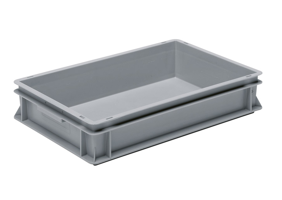Shallow 20 Litre Euro Stacking Container - (600 x 400 x 120)