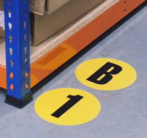 Floor ID Markers - 190mm Dia.