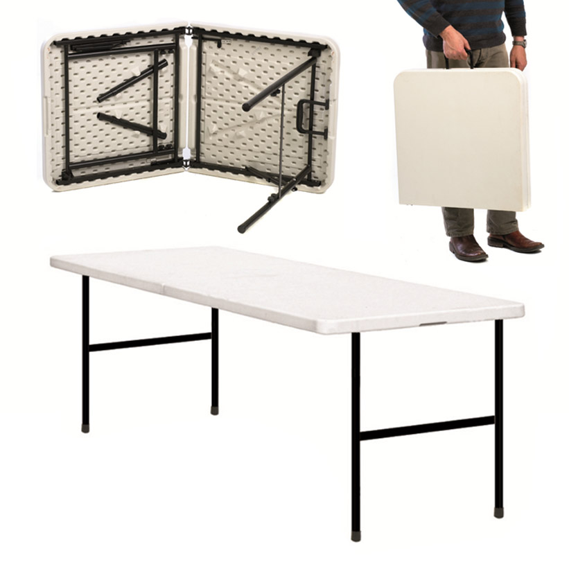 Compact Folding Canteen Table