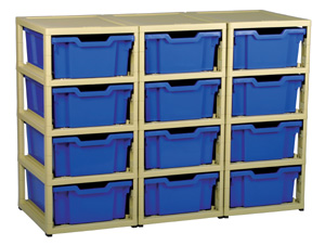 Gratnells 12 Tray GratStack Storage Unit