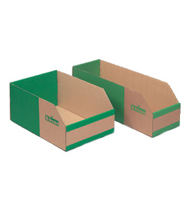 K Bins Cardboard Picking Bins - B Range (Pack of 25)