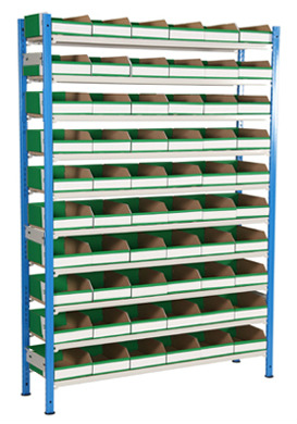 K Bin Picking Shelving - 60 Bins Large
