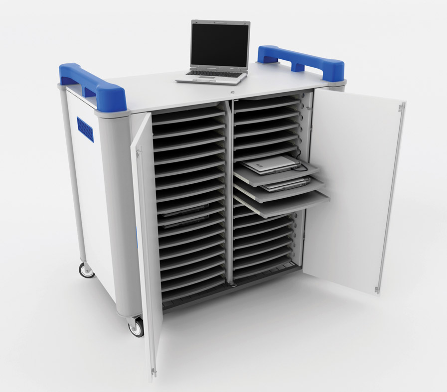 LapCabby 32H Mobile Laptop Charging Station