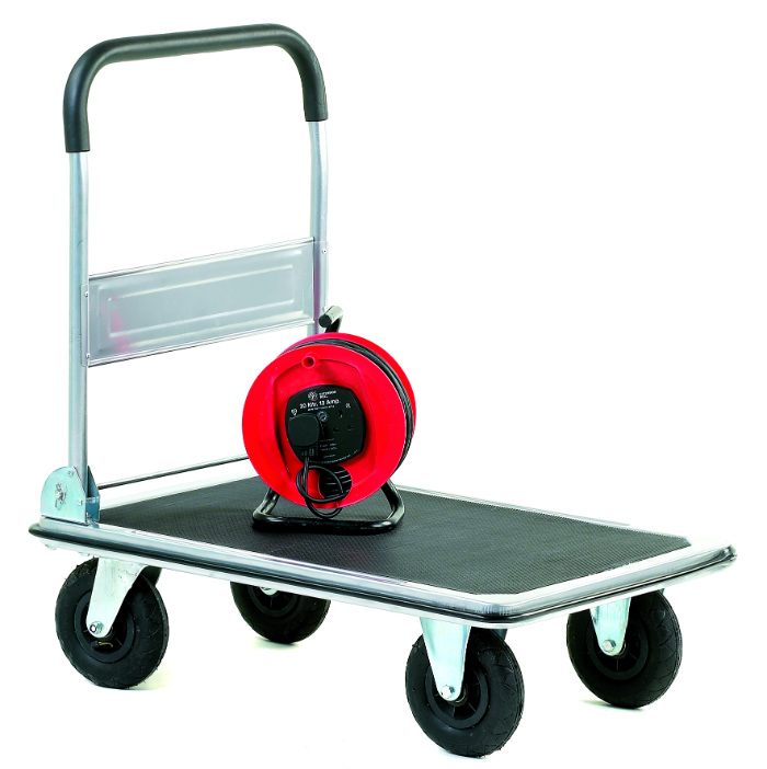 Large Wheeled Folding Platform Trolley 350kg