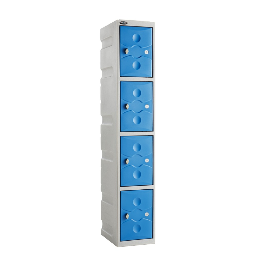 UltraBox Plus 4 Tier Waterproof Plastic Lockers