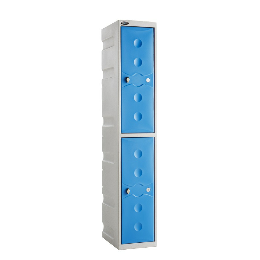 UltraBox Plus 2 Tier Waterproof Plastic Lockers