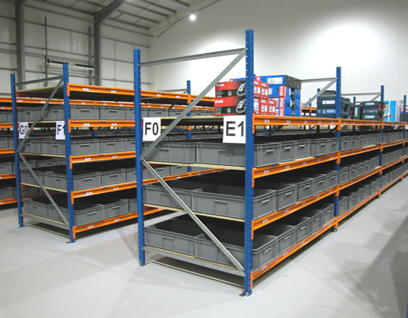 Longspan heavy duty racking 2500mm high warehouse shelving for Warehouse racking design software