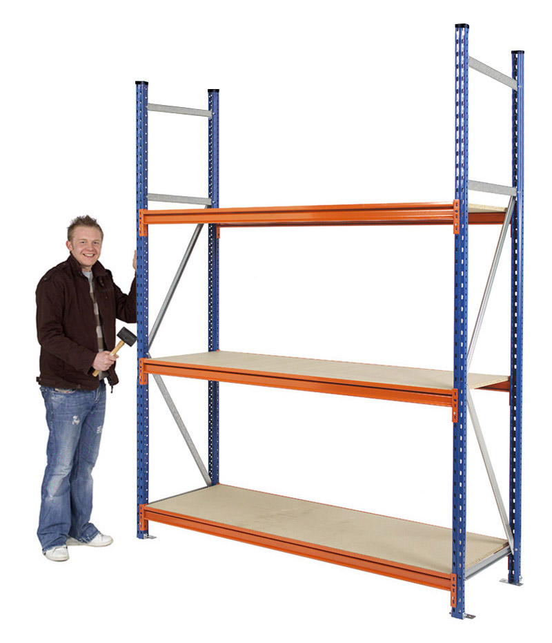 Longspan Heavy Duty Racking 2500mm High
