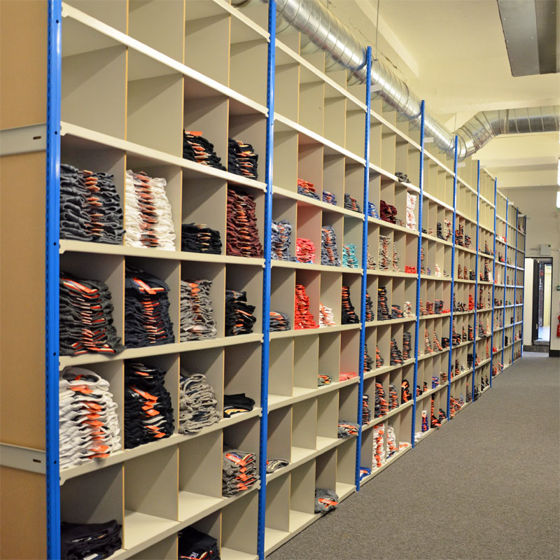Pigeon Hole Storage Shelving