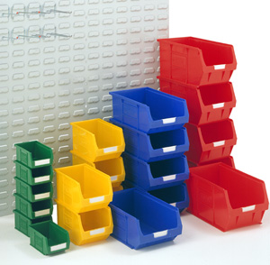 Open Fronted Plastic Storage Containers