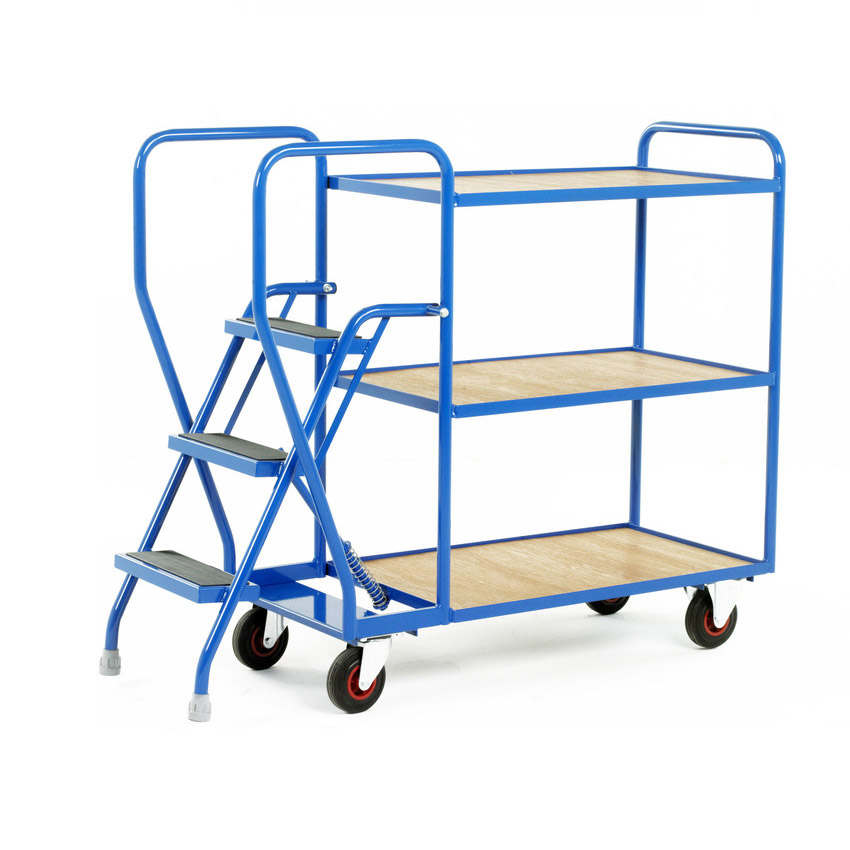 Heavy Duty Picking Step Trolley