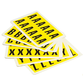 Self Adhesive Letters Pack (26 Sheets)