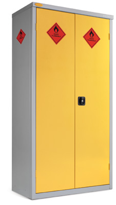 Hazardous Storage Cabinet - 8 Compartment