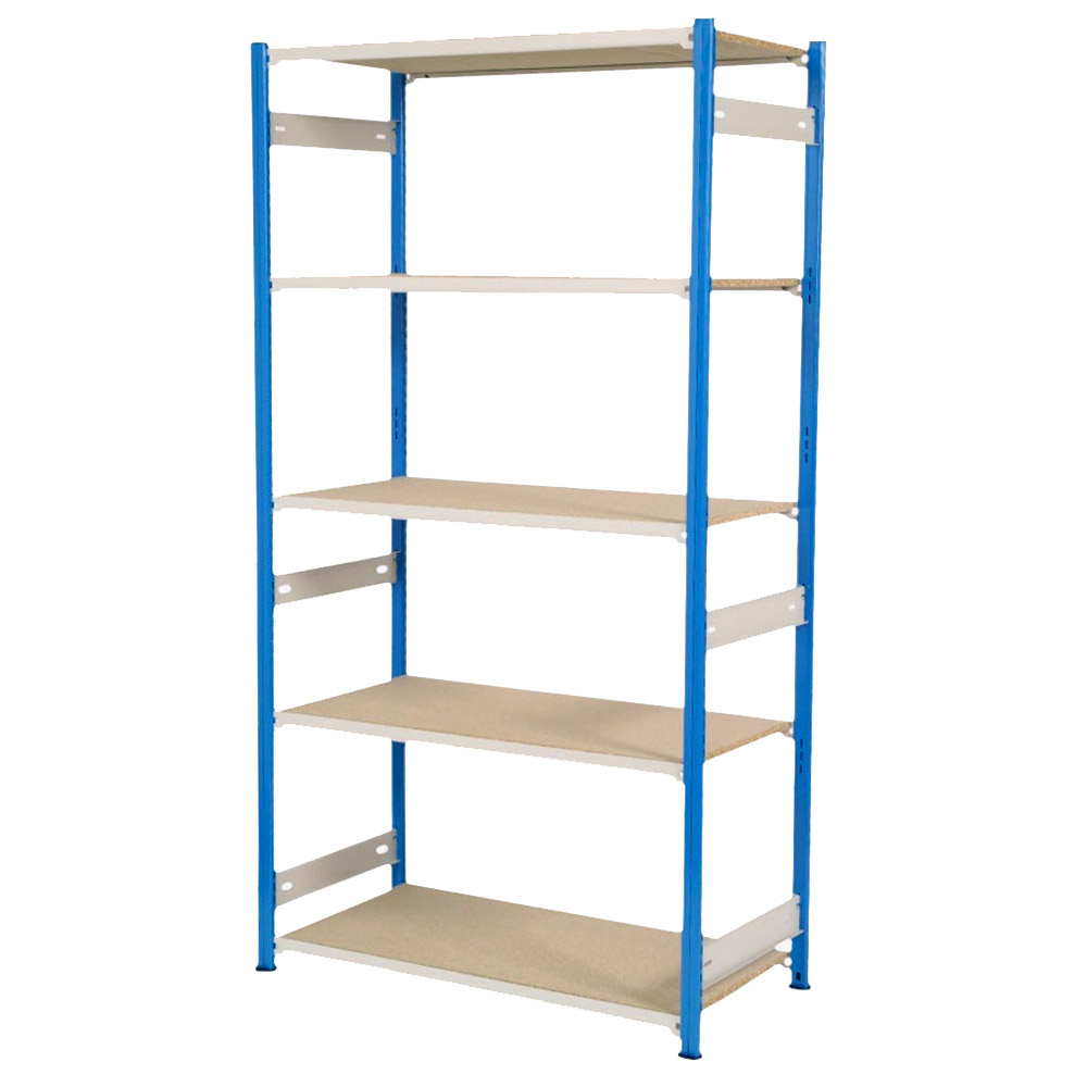 Trimline Stockroom Shelving 1830mm High - Chipboard Shelves