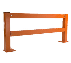 Twin Channel Steel Barrier