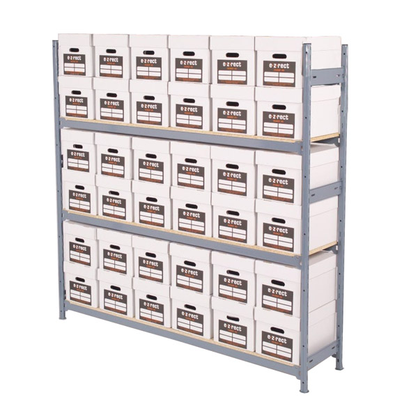 Single Depth Bulk Archive Shelving - H1830mm