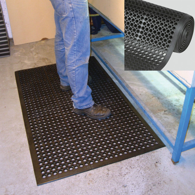 Workzone Moulded Duckboard Matting