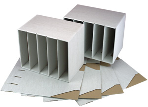 Pack of 10 Lever Arch File Storage Boxes