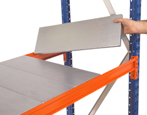 Galvanised Longspan Shelf Levels