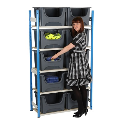 Order Picking Bin Shelving