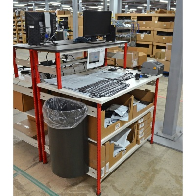 Trimline Packing Bench Workstation