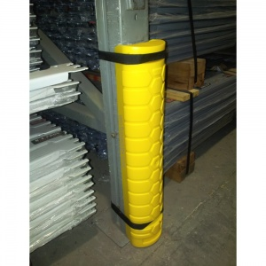 Rack Deflector Post Guard - Plastic