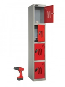 Probe Tool Charging Storage Locker