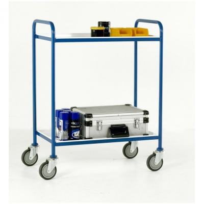 Steel Tray Shelf Trolley