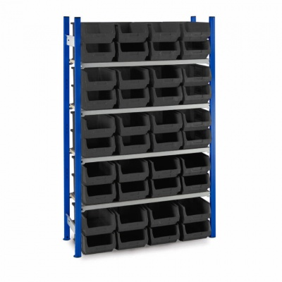 Plastic Picking Bin Shelving - Size 4 Bins