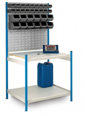 Small Parts Workstation With 40 Bins