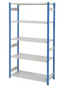 Trimline Storage Shelving - Steel Shelves H1830mm